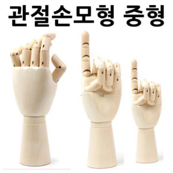 관절손모형 중형 손모형 조형물 손골격모형