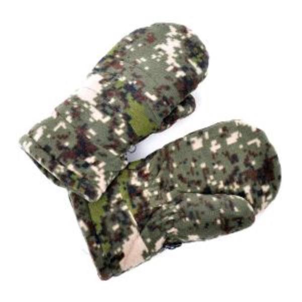 극세사 방한 군용 벙어리 장갑 디지털