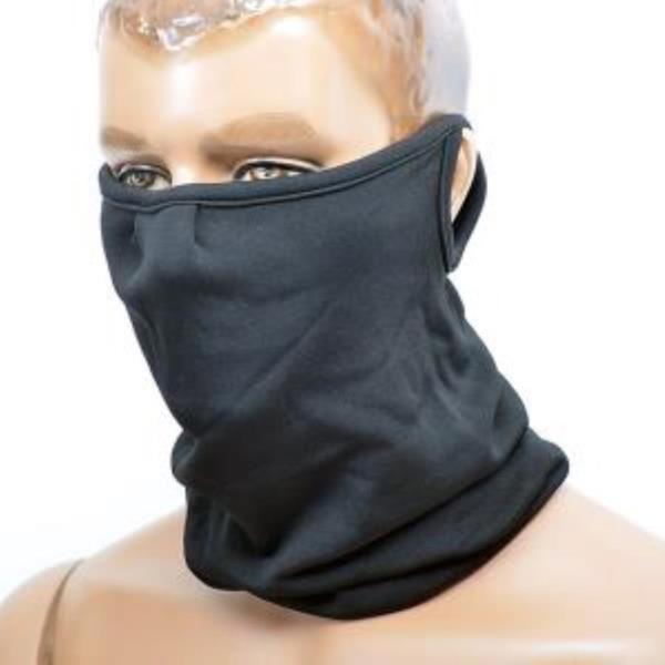 귀걸이형 동계용 멀티스카프 블랙