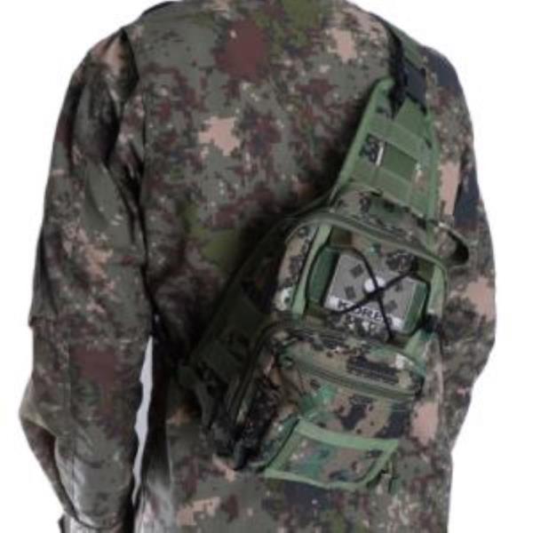 어깨쌕 특전사 국내생산 군인가방