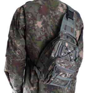 힙쌕 국내생산 군인가방 어깨쌕 육군