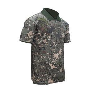 패치부착용 육군 국방 카라티셔츠 군용 남자반팔
