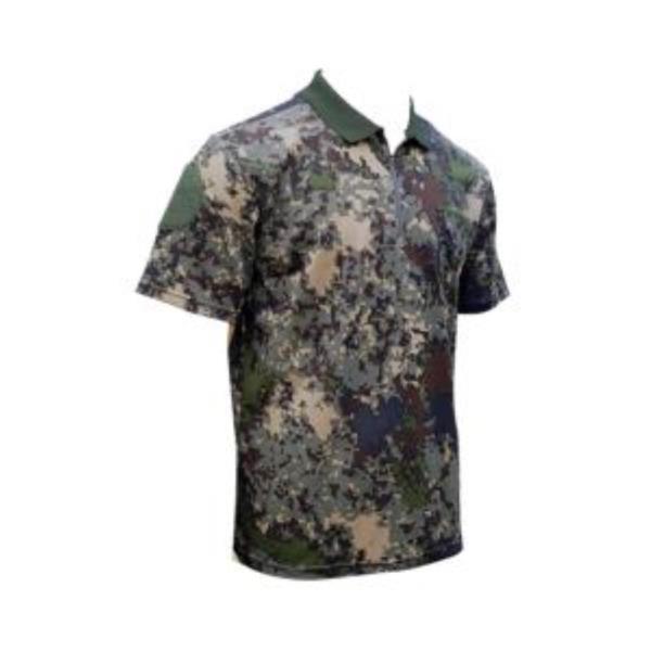 카라티셔츠 국방 군대 남자반팔 원형 패치