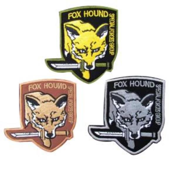 찍찍이 밀리터리 패치 와펜 fox hound