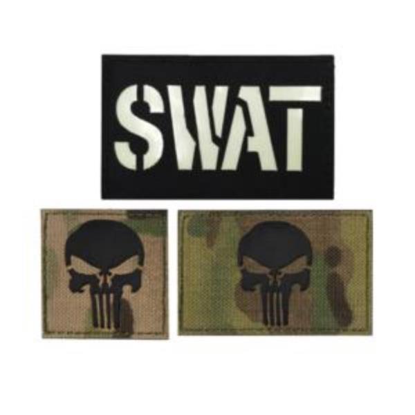 찍찍이 밀리터리 패치 와펜 SWAT