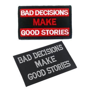 패치 와펜 밀리터리bad decisions make good stories