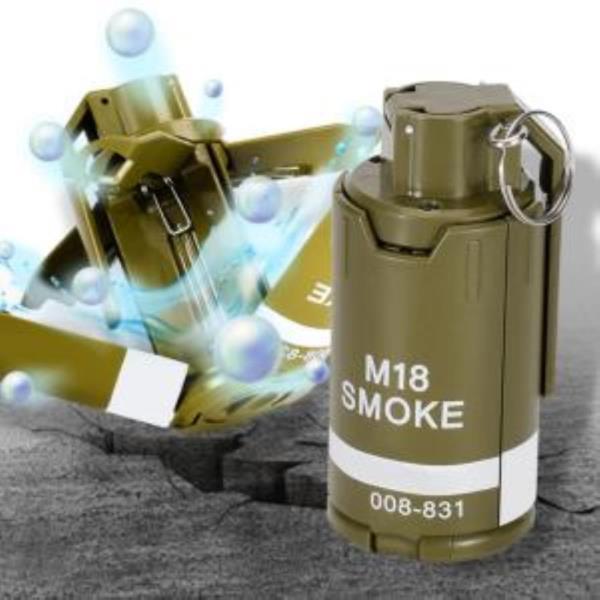 밀리터리 더미 M18연막탄 모형 수류탄