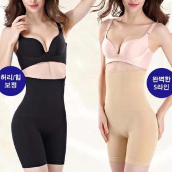 여자보정속옷 허벅지 등살 뱃살 사각거들 LD057