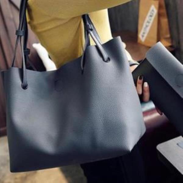 여자 토트백 기본 가방 지갑포함 마크원플러스 LD015