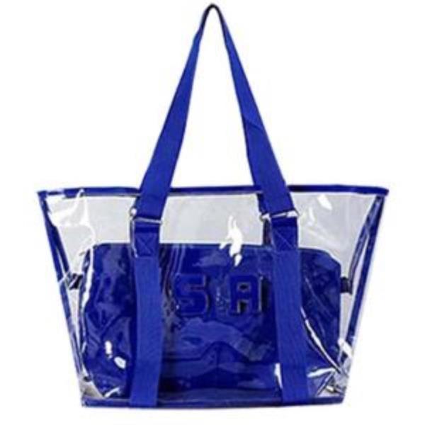 해외여행 필수 가방 여성 가방 비치 투명와이드 LD033