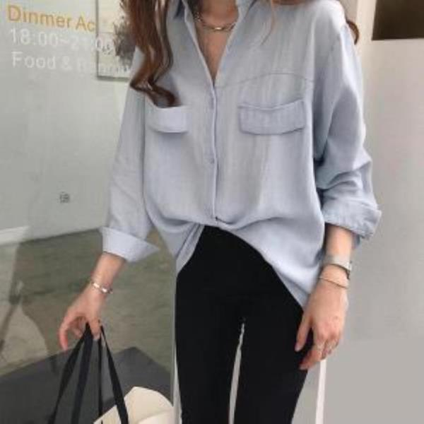 여자남방코디 여성 가을 겨울 기본 셔츠블라우스