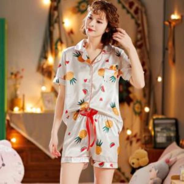 여자여름잠옷 하트 플루트 잠옷 LD-579