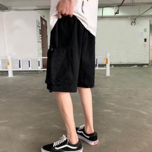 빈티지 사파리 팬츠 포켓 조임 반바지 LD-598