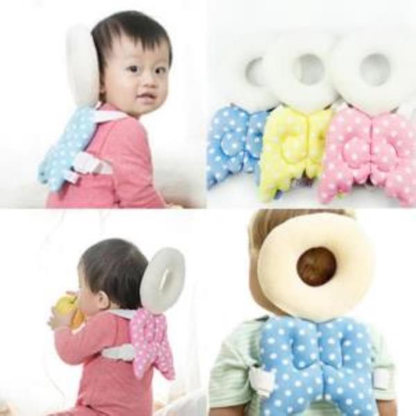 아나포 유아용 머리보호대 옐로우엔젤 등쿠션