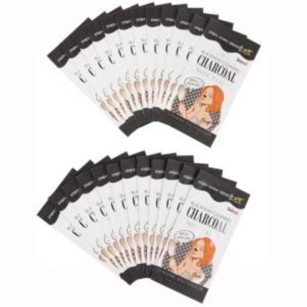 스킨애 블랙헤드 클리닝 참숯 코팩 대용량 24개입