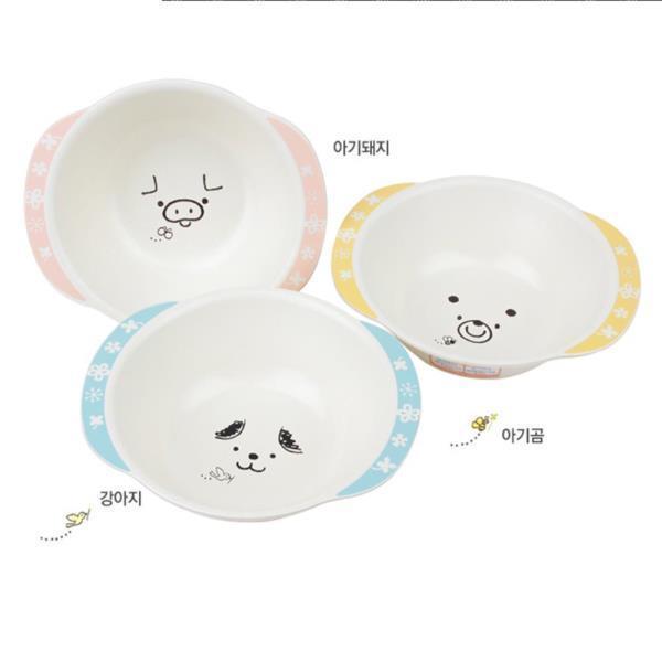 [하코야] 캐릭터동물 이유식 그릇/3종 택1