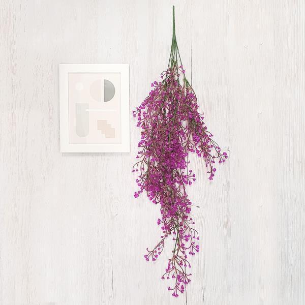 컬러 등나무 소형 분홍