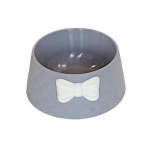 우쭈쭈 강아지 고양이 밥그릇 물그릇 수반 그레이