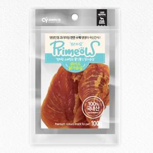 프리미요 수제 국산 간식 와이드 닭가슴살 100g