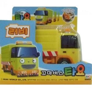 자동차 장난감 꼬마버스 타요 러비 미니카 청소차