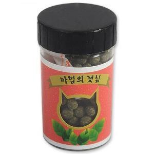 고양이 마법의 캣닢 환 장난감 섭취가능 변냄새 감소