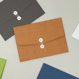 A4 용지 서류봉투 화일 파일 케이스 단추 매듭식 폴더