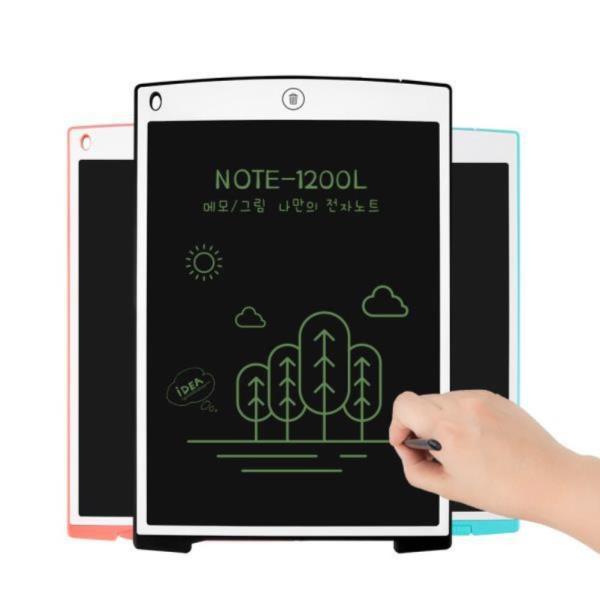NOTE-1200L 전자노트 메모패드 메모장 그림판