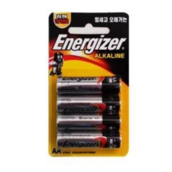 에너자이저 AA 알카라인 40알 건전지 밧데리 배터리