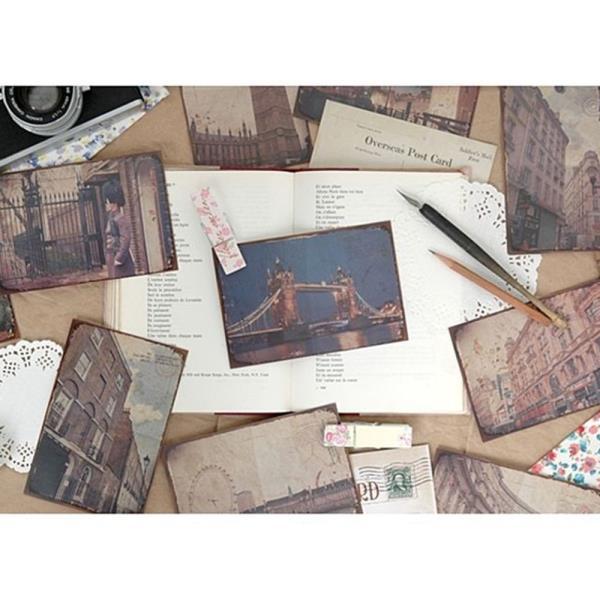 웰컴투 런던 포스트카드 10P 세트