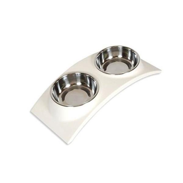 수퍼펫 레인보우 식탁 화이트 99035S 화이트 강아지식기