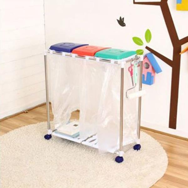 3단 분리수거함 1P 가정용분리수거함 재활용분리수거