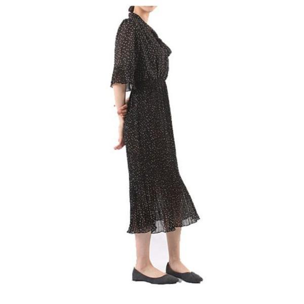 여자 원피스 물방울 패턴 반팔원피스 여성원피스