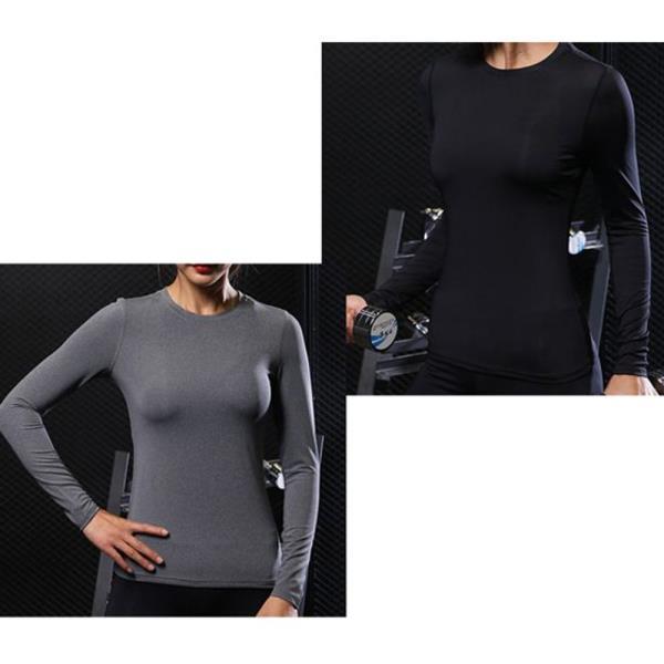 여자 요가셔츠 스판 쫀쫀 긴팔 운동티셔츠 운동복