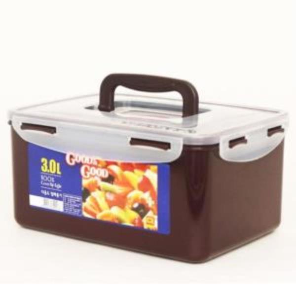 Y39 밀폐용기 3L 1개 김치통 냉장고용기 보관용기