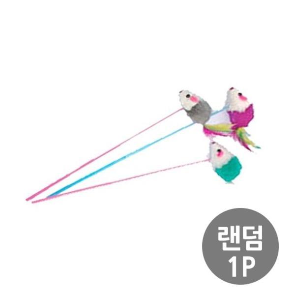 막대 쥐 30cm 1개 색상임의발송 고양이 캣 냥이 깃털