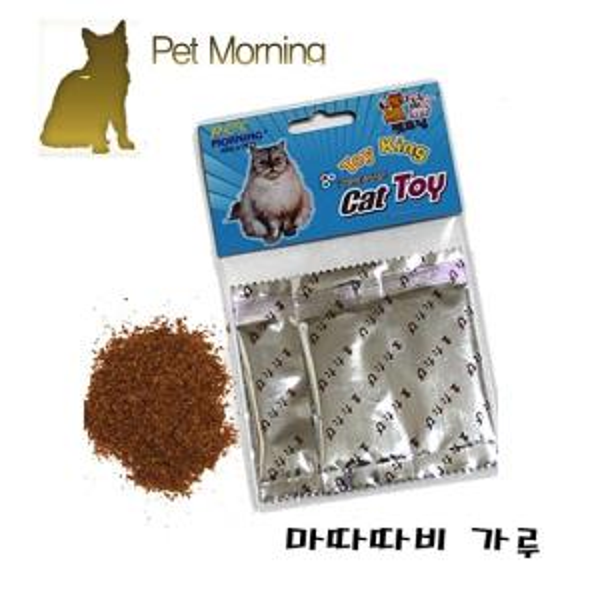 PMC 239 마따따비 가루 고양이 캣 먹이 간식 사료 놀