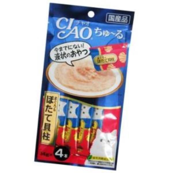 고양이 스틱 참치 관자 14g 4p 고양이 애묘 간식 고양