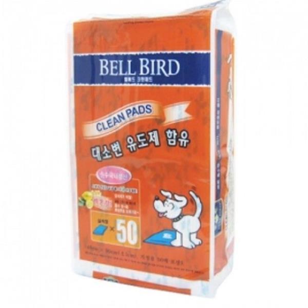애견 배변패드 레몬향 패드 50매 1개 강아지배변패드