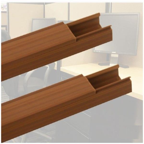 전선 정리 용 몰딩 우드색 25mm-2P 선 밴드 정리 청소