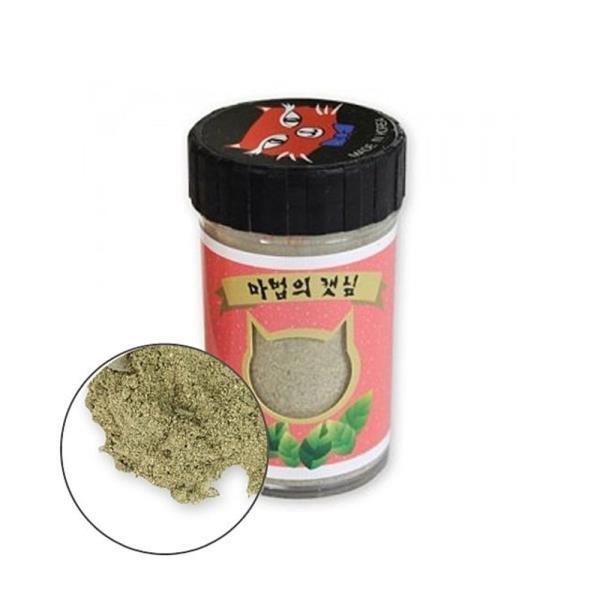 PMC 327 마법의 캣닢 가루 고양이 캣 잎 닢 먹이 간