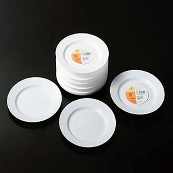 다회용 접시 1638 4P 일회용그릇 일회용식기 일회용품
