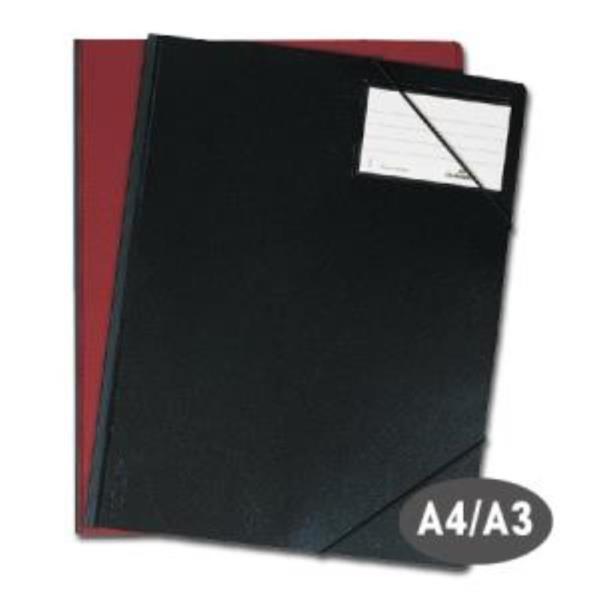 A4 A3 흑색 밴드 파일 1P 사무실 서류 케이스 파일