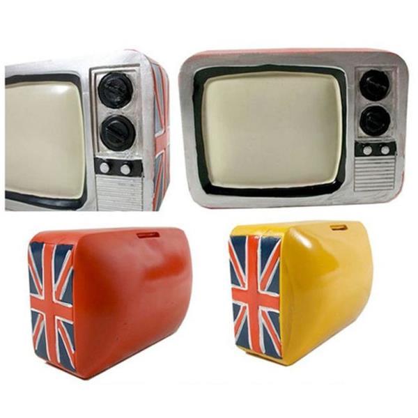 티비모형 저금통 1P 미니 금고 개인용 캐쉬박스