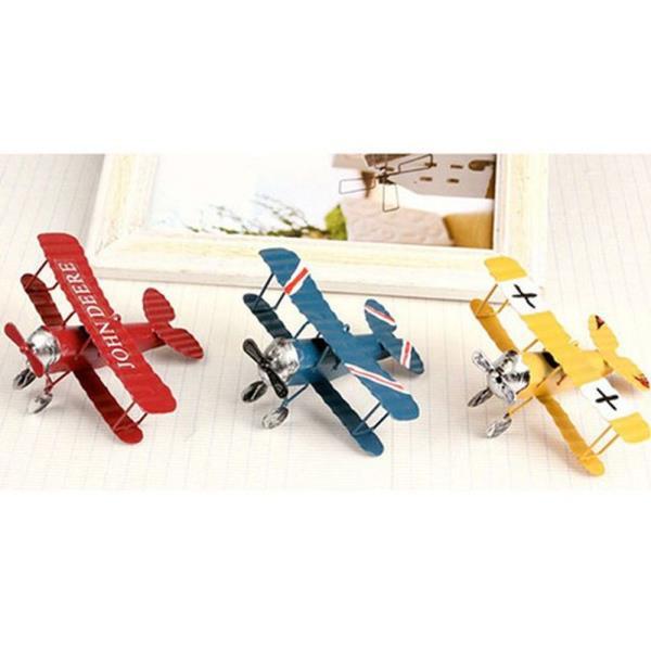 비행기 철재 미니어쳐 1P 프라모델 모형 장식품