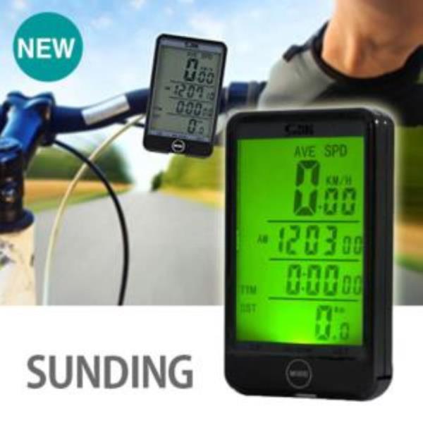 SD 백라이트 자전거 무선 속도계 1P 속도센서 측정