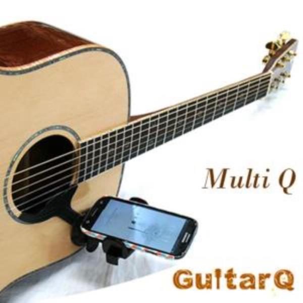 멀티Q 기타전용 스마트폰 거치대 1P 기타액세서리