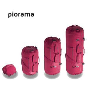 3단변형 더플백 백팩 레드 1P 백패킹 등산가방 전술
