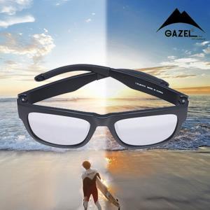 편광 그랑드 스포츠 선글라스 실버 1P 자외선 안경
