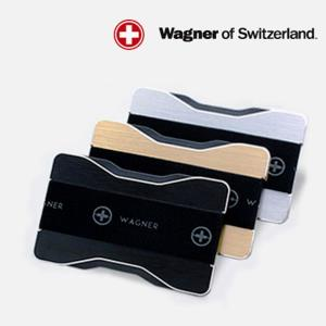 스위스 슬림 메탈 지갑 1P 남성지갑 카드 명함