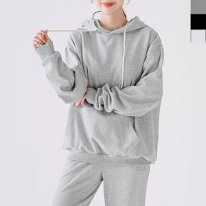 D20 여자 무지 후드티 면티셔츠 오버핏 커플티